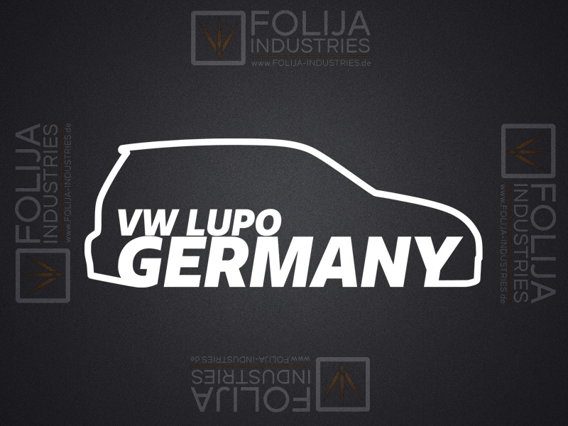 VW LUPO GERMANY Beifahrerseite