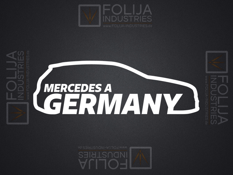 MERCEDES A GERMANY Beifahrerseite