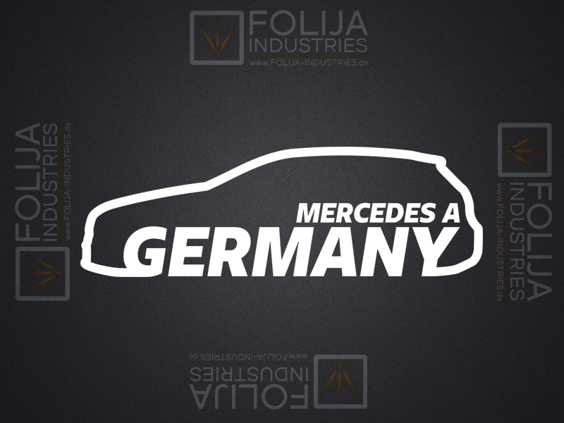 MERCEDES A GERMANY Fahrerseite